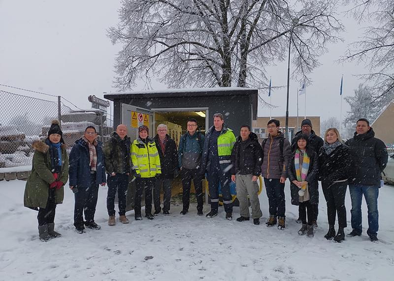 赫兹曼中国团队欧洲行,瑞典研发中心跨国交流学习