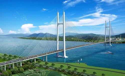 桥梁交通|低碳节能|广东第一斜拉桥江顺大桥