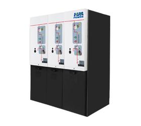 10kV常压密封空气绝缘开关柜/环网柜(三回路)
